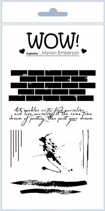 Wall Art (by Marion Emberson) - Clear Stamp Set